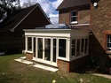New Orangerie extension to rear of property in Timber