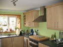paint kitchen walls, and apply coving