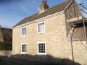stone cottage repointed using lime mortar. the stone cottage was repointed in monk fryston