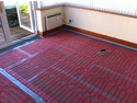 Electric Underfloor Heating before screeding
