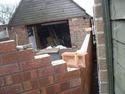 External angled corner