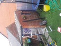 outbuilding reroof in blackpool before