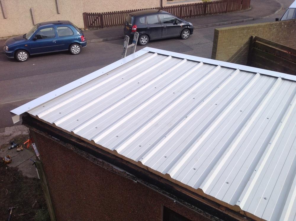 Murray Roofing Fife Ltd 100 Feedback Roofer Garage
