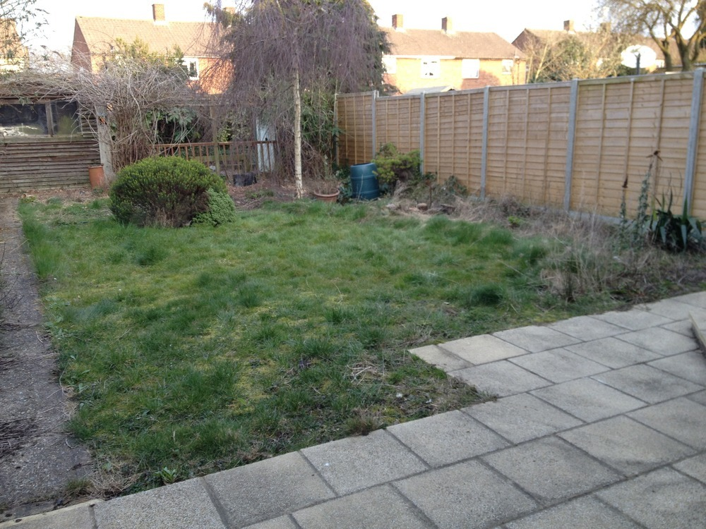 Garden Clearance And Lay New Turf Lawn - Landscape Gardening Job In Borehamwood Hertfordshire ...