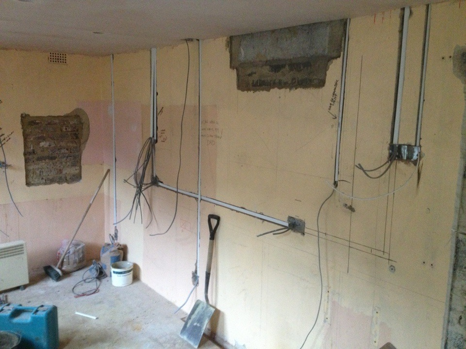 First Fix Electrics  100  Feedback  Electrician In Chatham