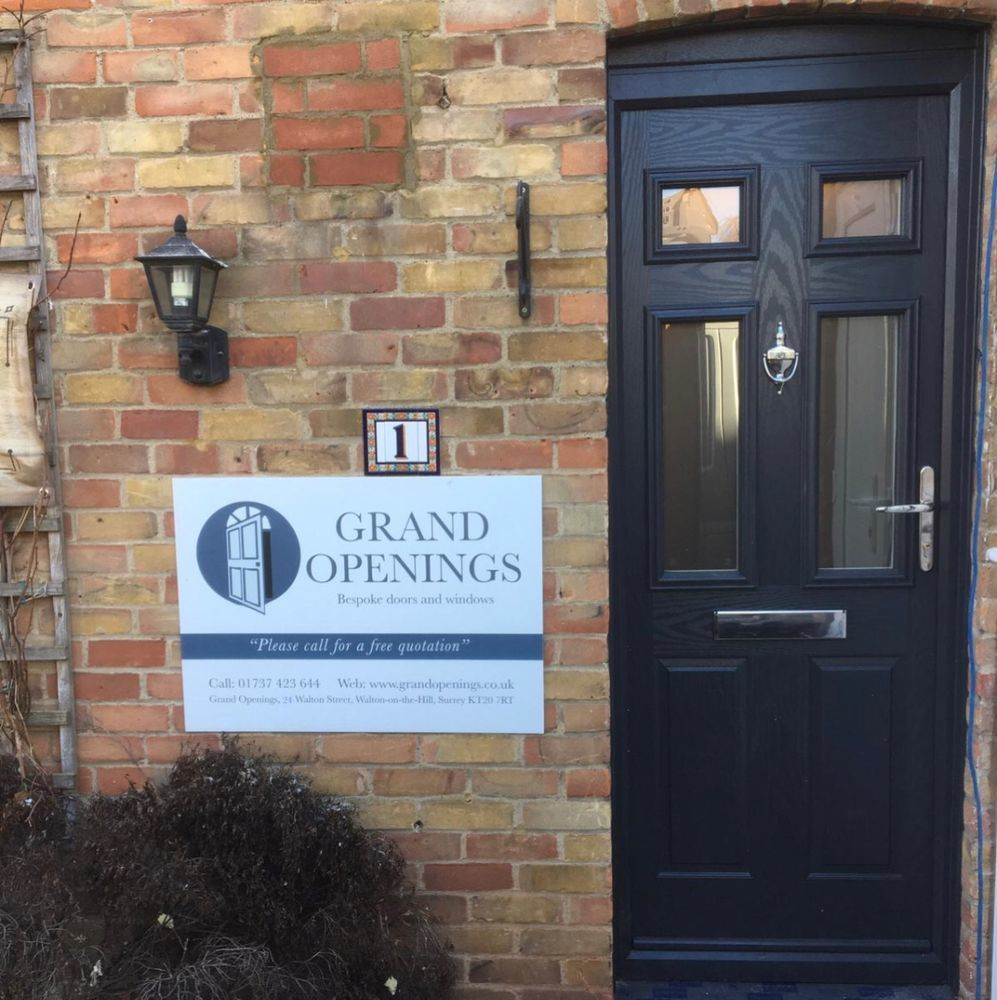 Grand Openings 100 Feedback Window Amp Door Fitter Upvc