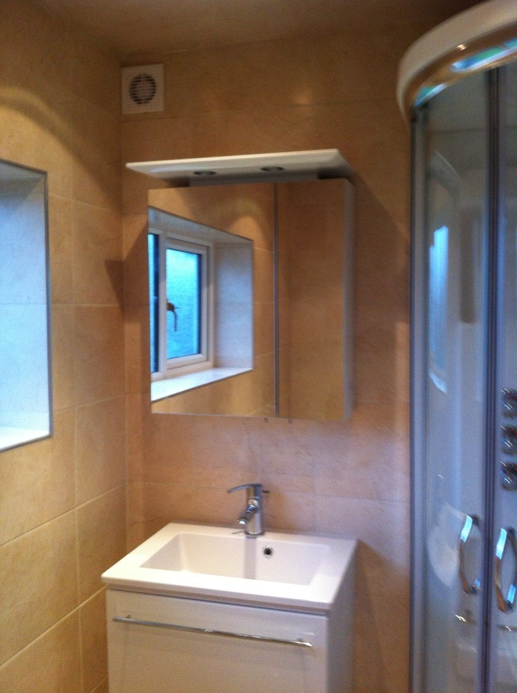 Bathrooms by hanmer 100 feedback plasterer tiler for Bathroom design blackpool