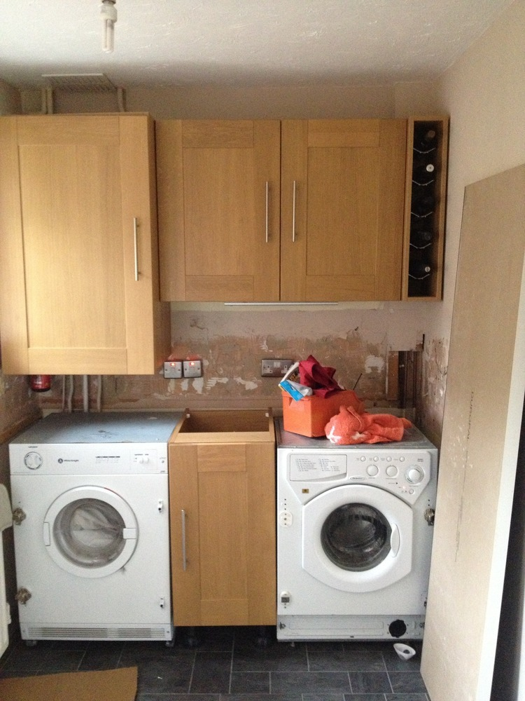Kitchen Worktops And Up Stands Kitchen Fitting Job In