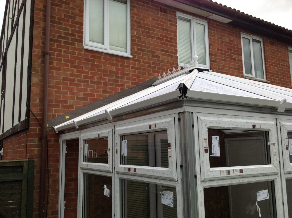 Lead Flashing On Conservatory Roofing Flat Job In