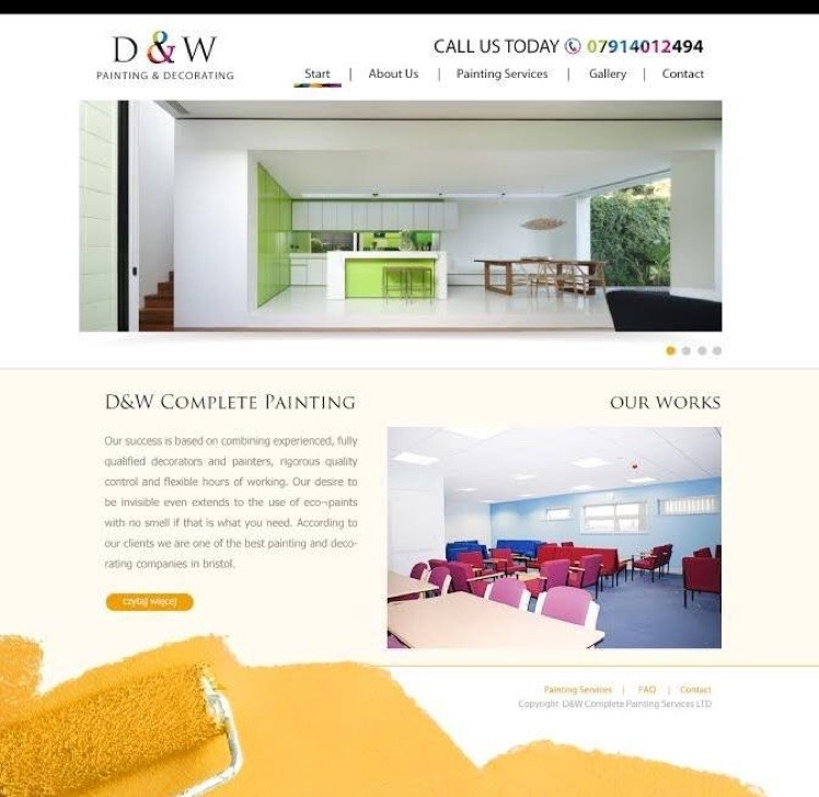 D W Complete Painting Services 97 Feedback Painter Decorator In