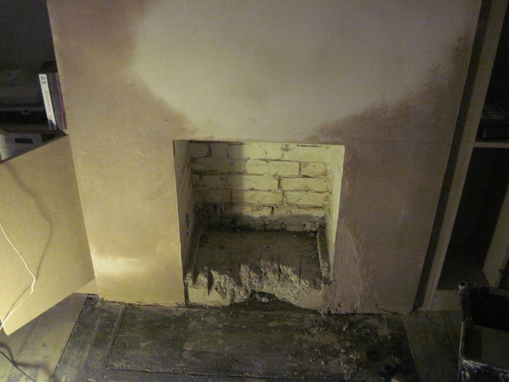 Opening Up A Fireplace For A Wood Burner Chimneys