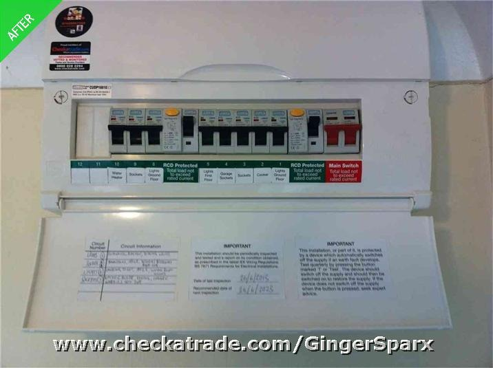 Ginger Sparx  100  Feedback  Electrician In Newcastle