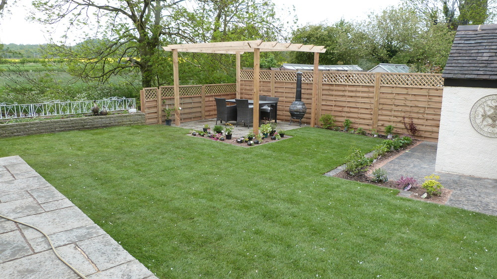 Dreamscapes landscaping designs 80 feedback landscape for Medium back garden designs