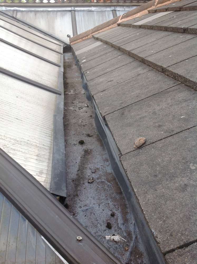 Box Guttering Leaking Into Conservatory Roofing Job In