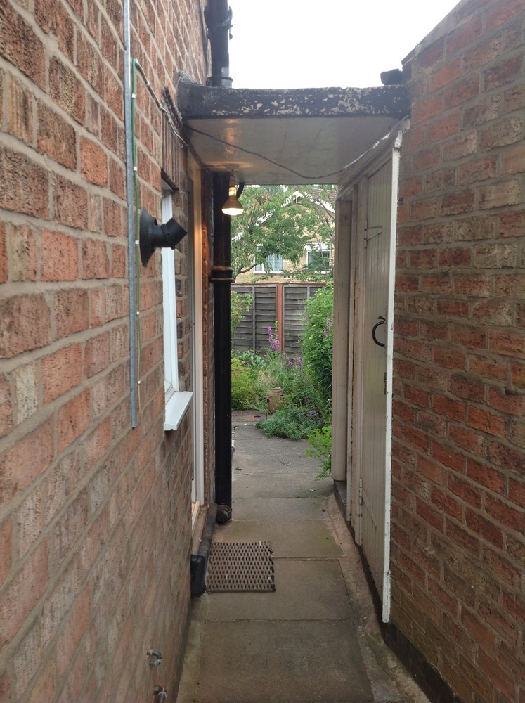 Convert Outhouse Wc And Coalshed In Utility Room