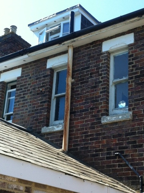 Roof Soil Pipe Amp We Would Also Add That A Frozen Soil And