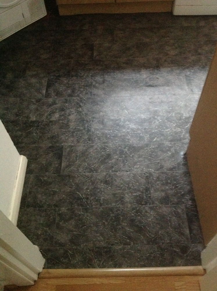 Kitchen And Small Downstairs Toilet Vinyl Flooring