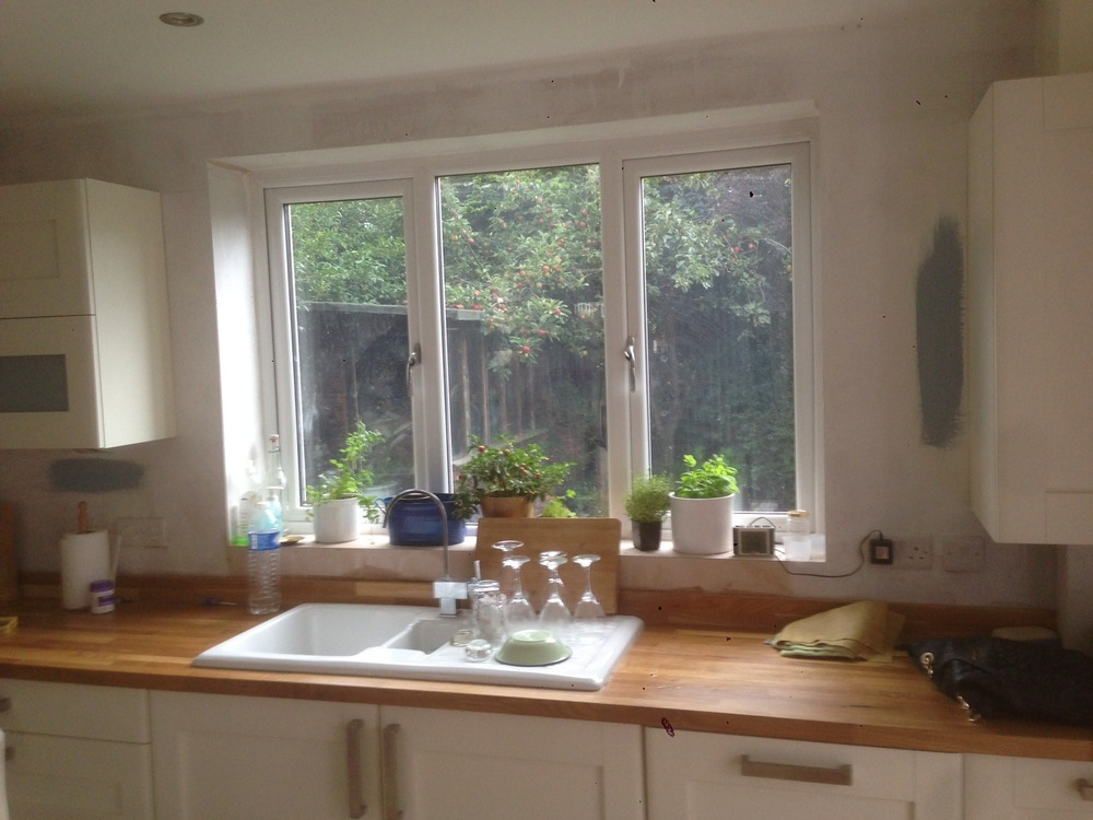 Pictures Of Tile Around Kitchen Window. Home Design. Home Design Ideas