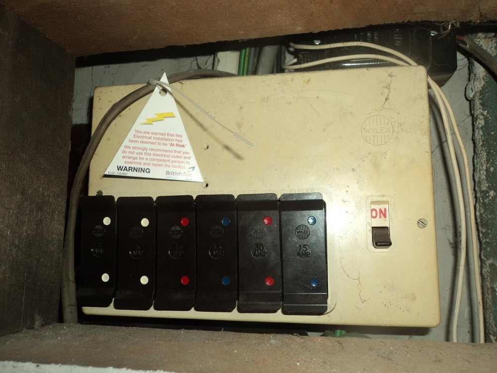 Rcd Fuse Box Price : Replace rewireable consumer unit add rcd earth gaswater