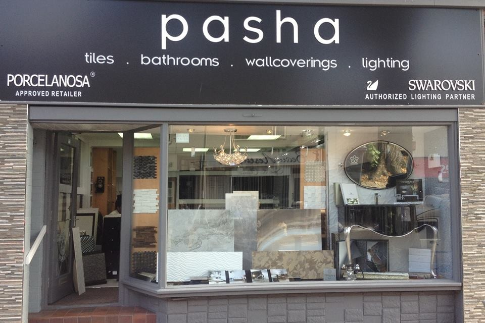 pasha design: 100% Feedback, Tiler in Leicester