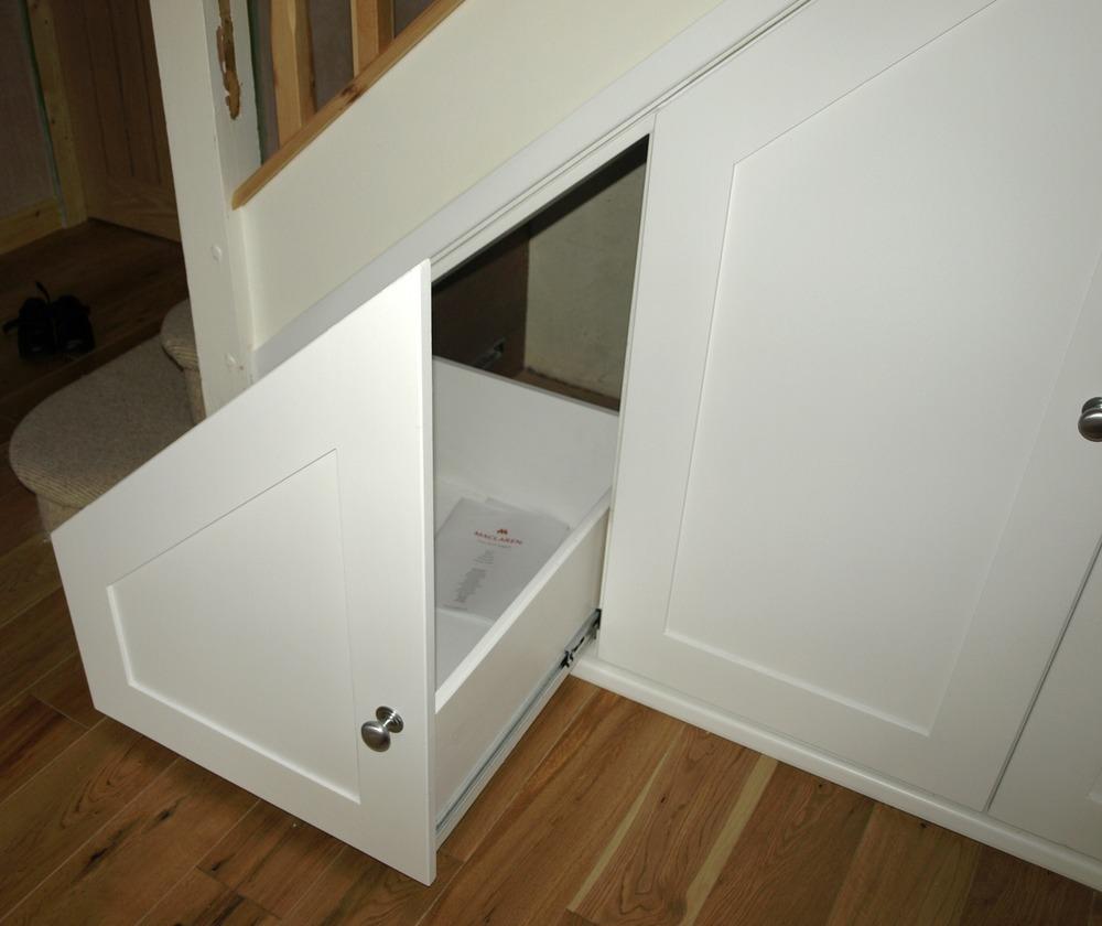 Bespoke Under Stairs Shelving: Deco Bespoke: 100% Feedback, Carpenter, Joiner In Cheltenham