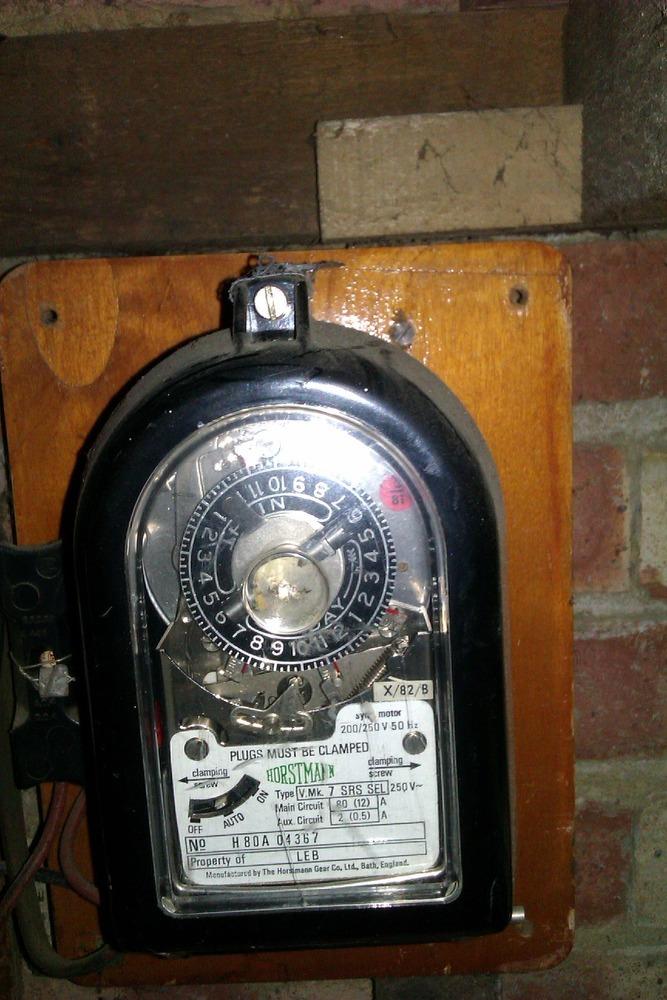 Move Feed From Off Peak Meter To Peak Meter Electrical
