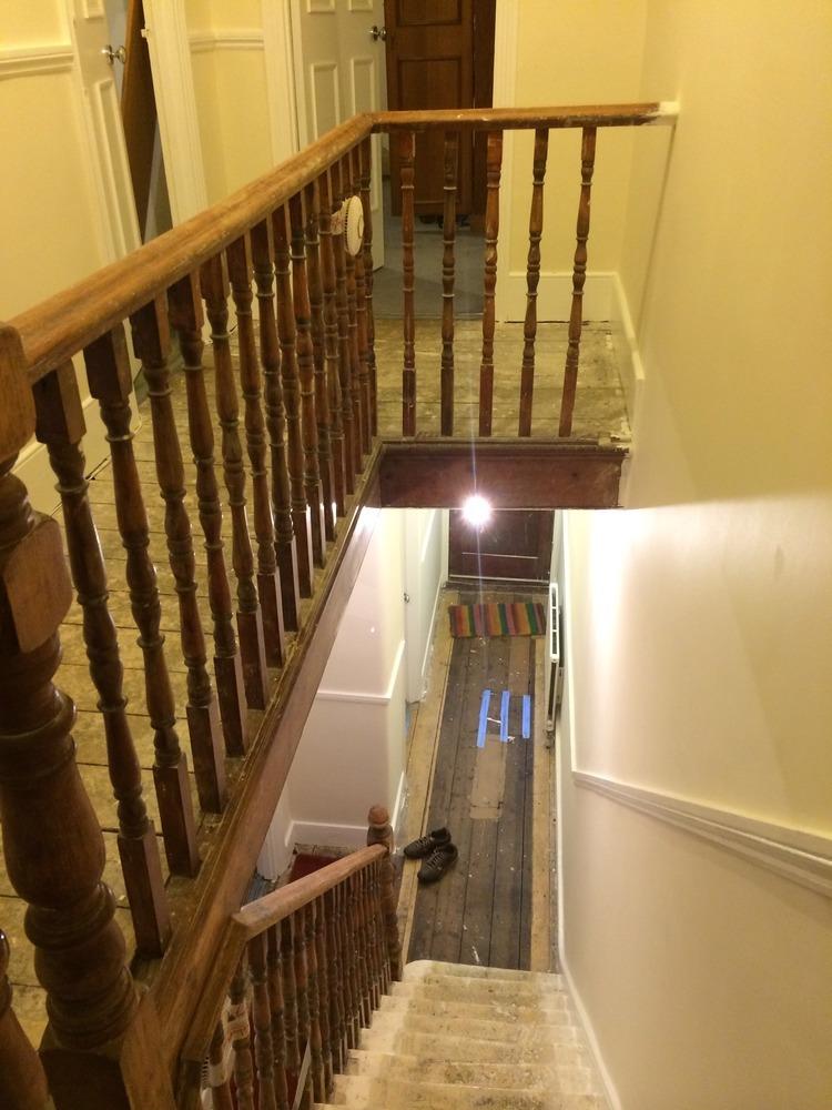Stair Repairs Replace Spindles Baserail Bullnose Step
