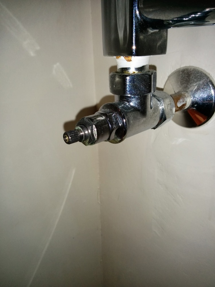 Replace Soil Pipe Connector And Towel Rail Washers