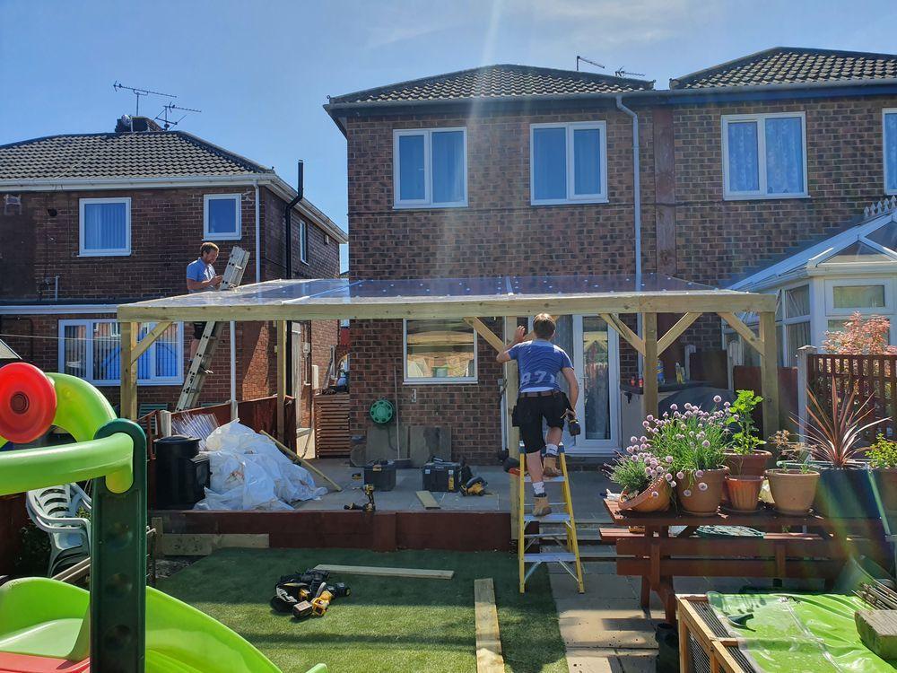 P Watson Joinery 100 Feedback Carpenter Decking