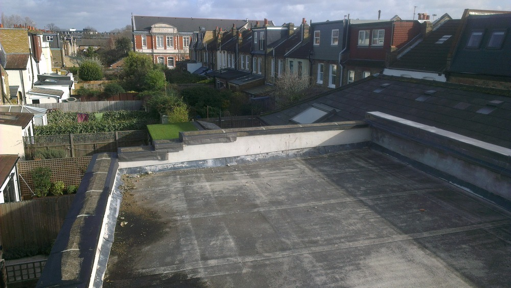 Flat Roof Coping Stones Replacement Roofing Flat Job