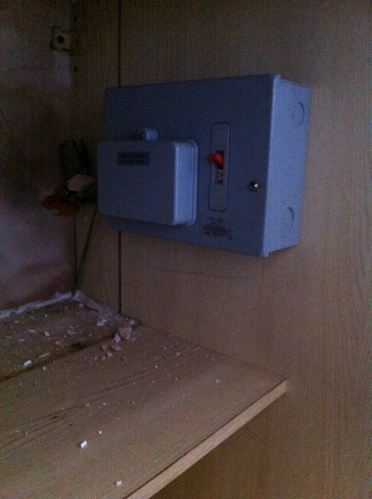 moving a consumer unit