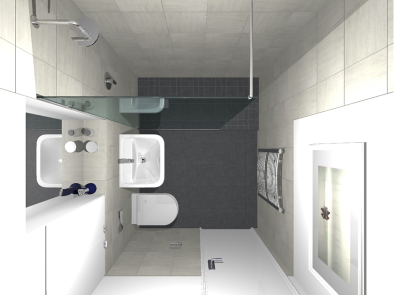 Fit 7ft x 6ft bathroom bathroom fitting job in southwark for Bathroom design 6 x 6