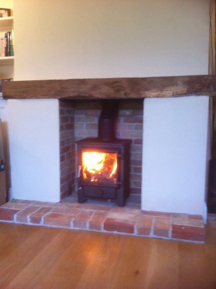 Living Room Fire Surrond For Gas Fire