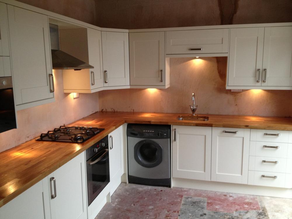 Lighting for kitchen worktops : Clarkes joinery solutions ltd feedback carpenter