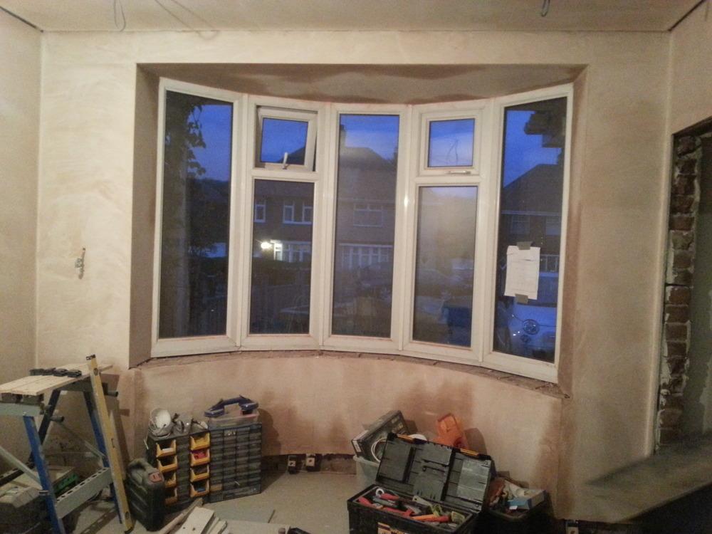 Internal Bay Window Sill Needed Wooden Joinery
