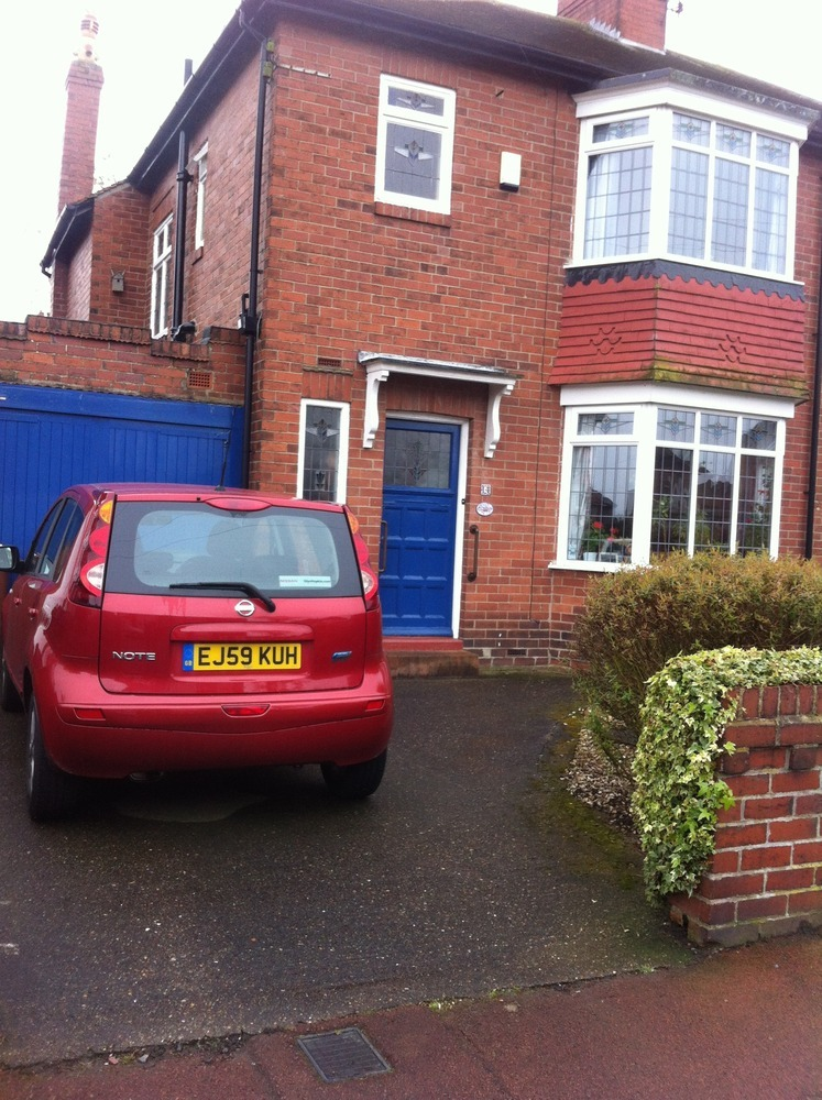 Pave Front Driveway Driveways Job In Newcastle Upon Tyne