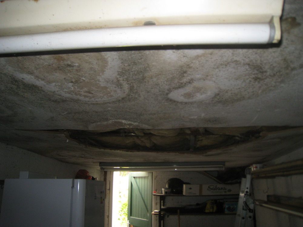 Leaking Garage Roof Asbestos Roofing Flat Job In