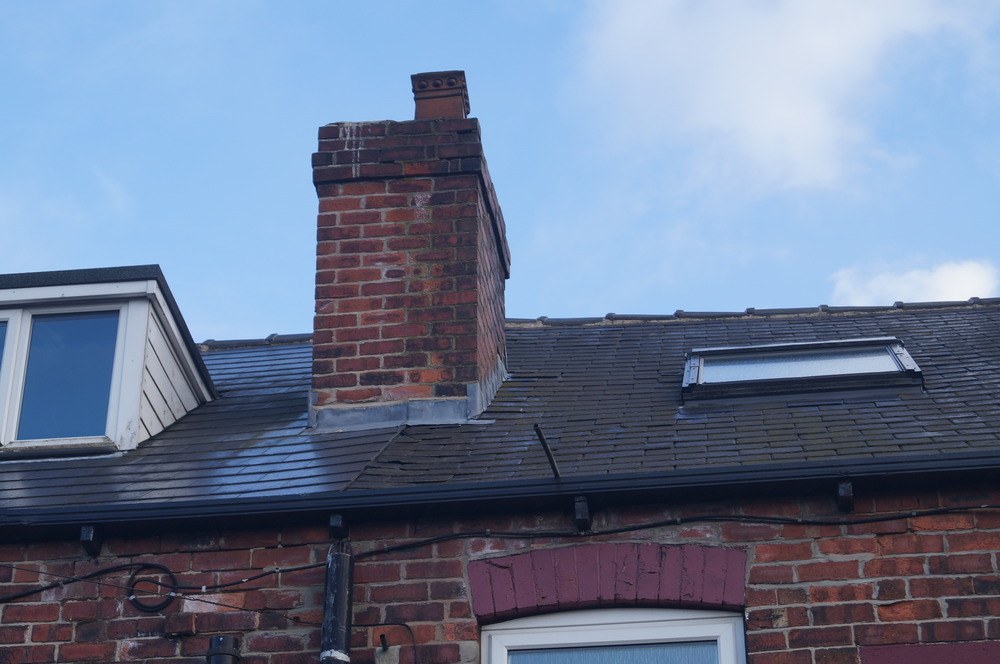 Repointing Of Chimney Stacks Roofing Pitched Job In