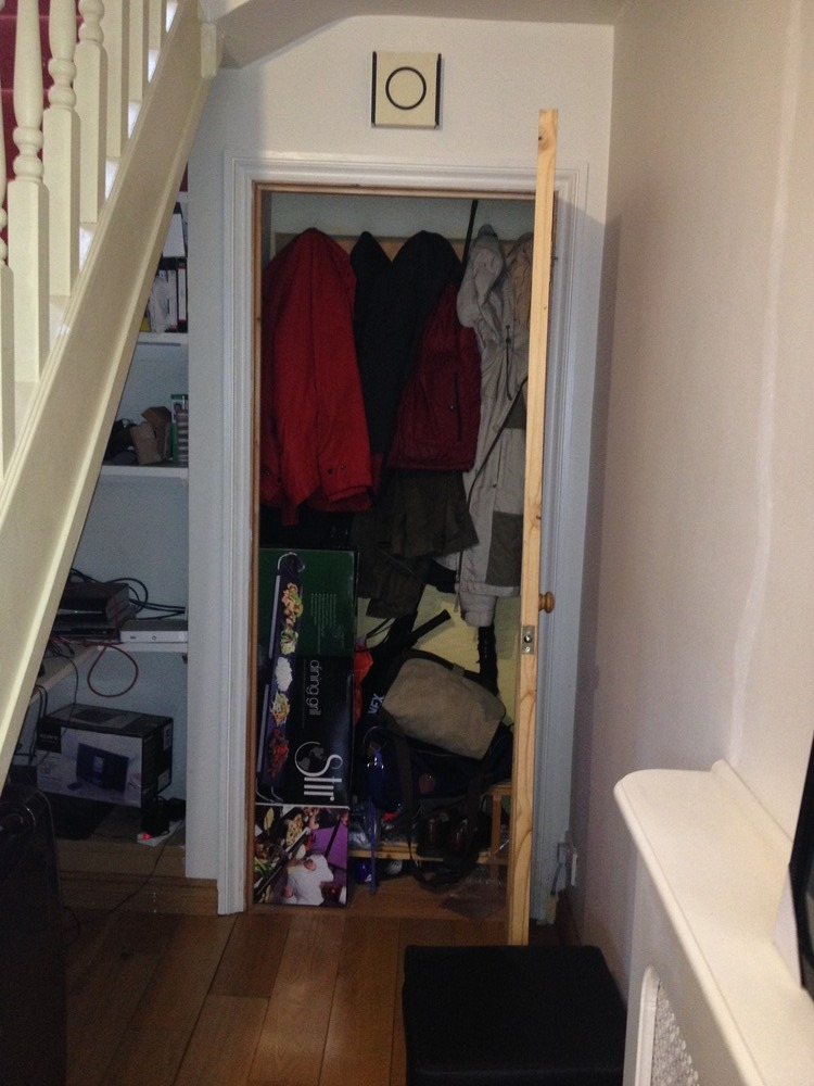 Toilet under stairs bathroom fitting job in leicester for Bathroom builders leicester