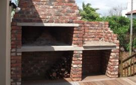 Large Bbq With Chimney Bricklaying Job In Downham Market