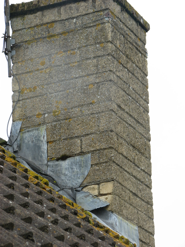 Repair Chimney Stepped Flashing Amp Roof Verge Flaunching