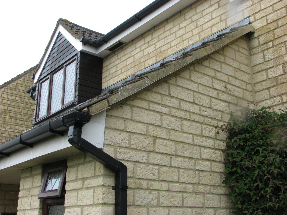 Repair Chimney Stepped Flashing Amp Roof Verge Flaunching