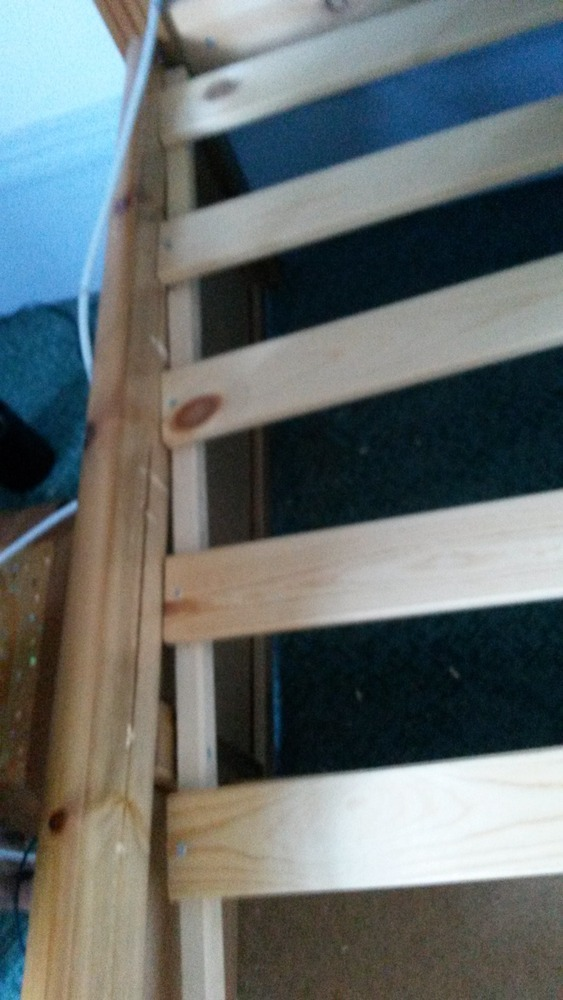 how to fix a cracked wooden daggerboard