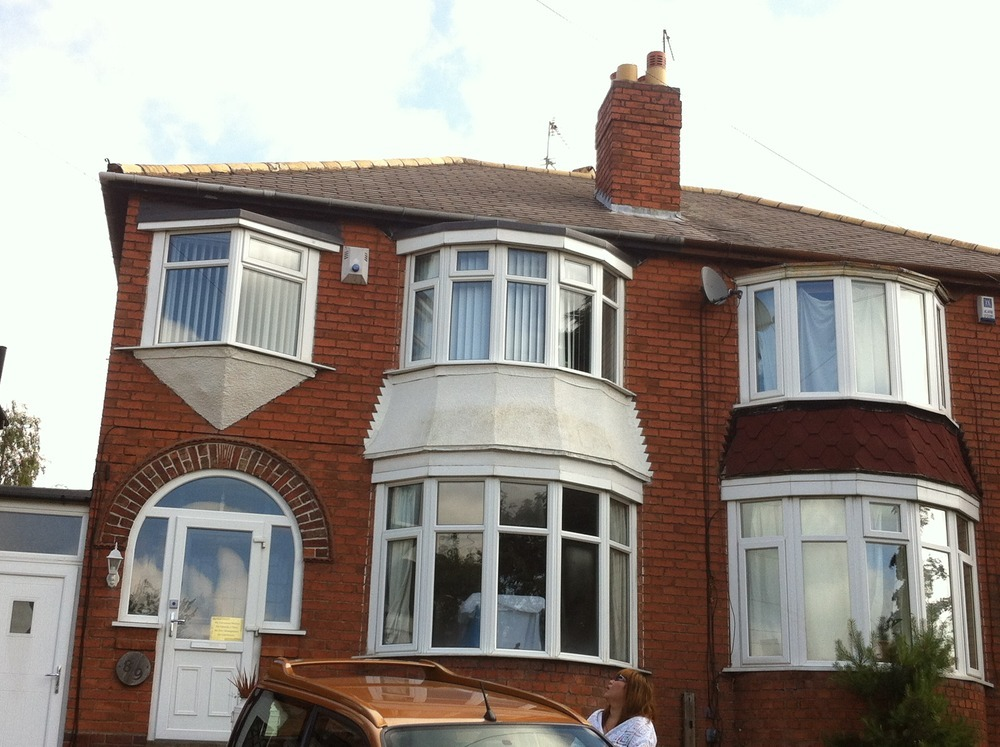 Replace Main Pitched Roof Flat Roof Over Bay Window