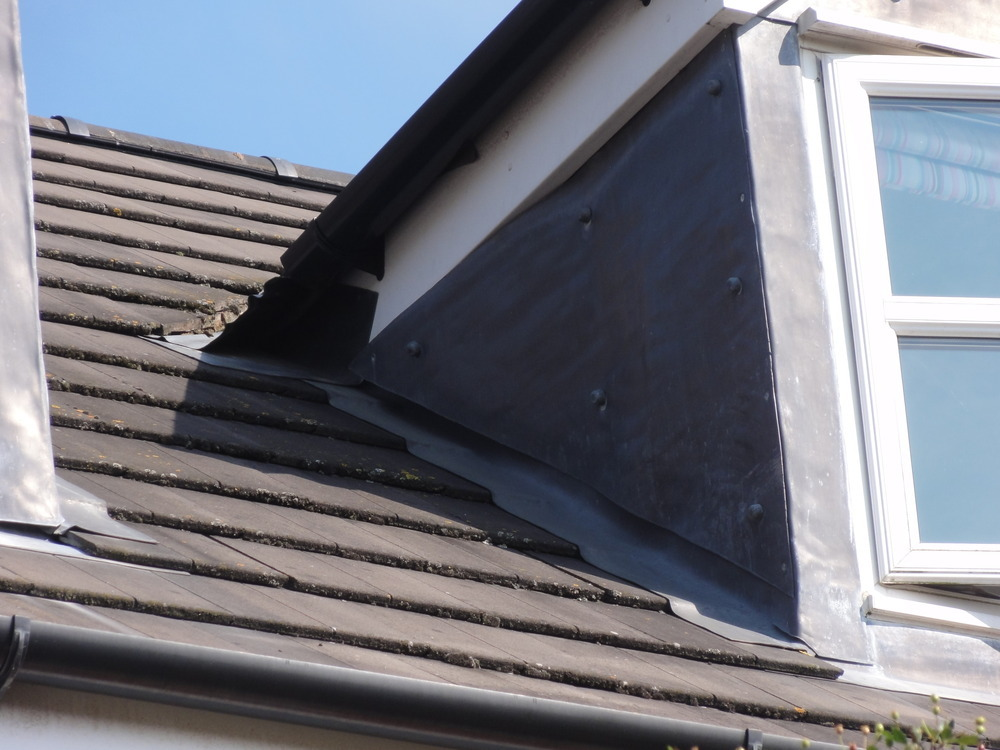 Win a new bathroom - Repair Lead Flashing On Dormer Window Roofing Job In