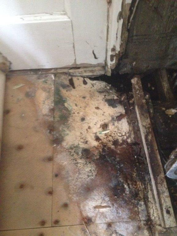 Replace Rotten Bathroom Joists And Fix Leaking Taps