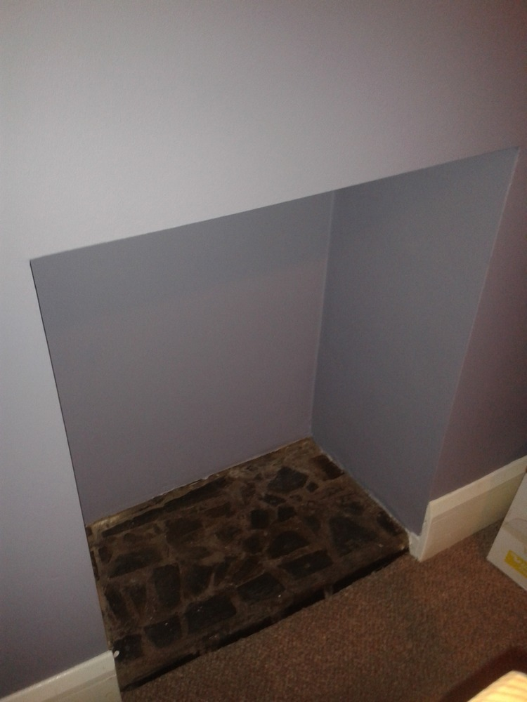 Block off chimney and plasterboard fireplace opening - Chimneys ...