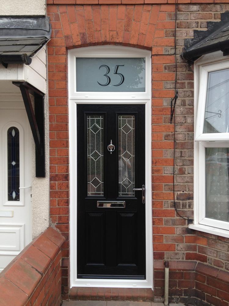Build External Door Frame For Front Door With Fanlight
