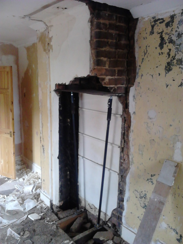 Chimney Breast Removal Southend Fireplaces Amp Flues Job