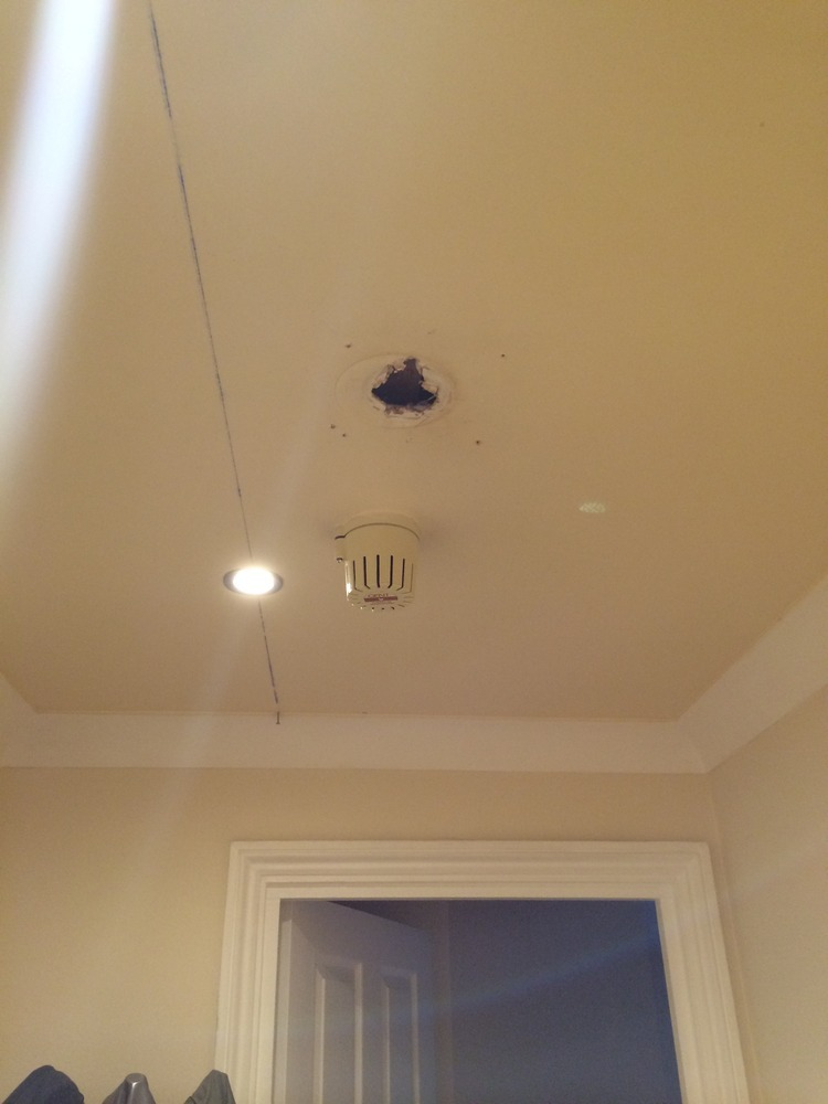 Repairing Ceilings Damaged by Downlights Installation - Plastering ...